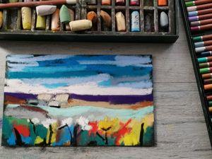 Рисуем пастелью как маслом. Ярмарка Мастеров - ручная работа, handmade.