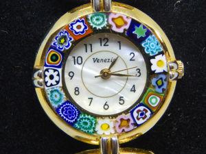 Винтажные часы Murano Moretti. Ярмарка Мастеров - ручная работа, handmade.