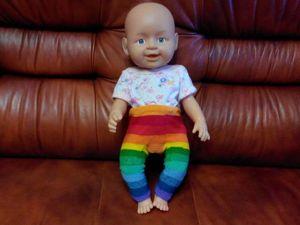 Видео мастер-класс: вяжем крючком гамаши для пупса Baby born. Ярмарка Мастеров - ручная работа, handmade.