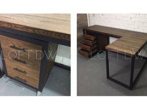 Угловой письменный стол. Ярмарка Мастеров - ручная работа, handmade.