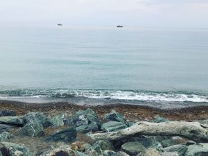 Вечернее море. Ярмарка Мастеров - ручная работа, handmade.