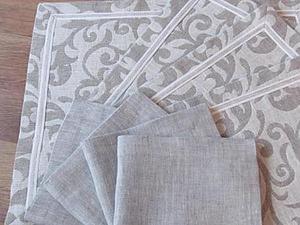 Шьем салфетку, ланчмат или скатерть. Ярмарка Мастеров - ручная работа, handmade.