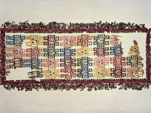 Шедевры индейского искусства: ткань Паракас. Ярмарка Мастеров - ручная работа, handmade.