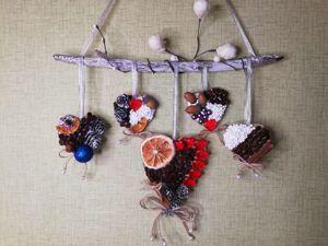 Видео мастер-класс «Новогоднее настенное панно». Ярмарка Мастеров - ручная работа, handmade.