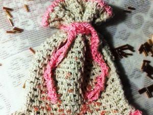 Вяжем мешочек для мелочей. Ярмарка Мастеров - ручная работа, handmade.