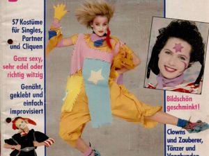Журнал Freundin Fasching Карнавал 1984. Ярмарка Мастеров - ручная работа, handmade.