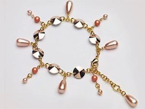 Создаем сияющий браслет «Весенняя капель» из кристаллов и бусин Swarovski. Ярмарка Мастеров - ручная работа, handmade.