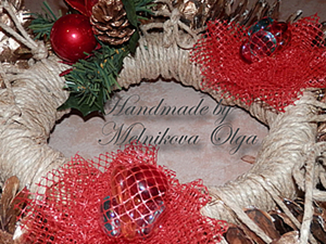 Рождественский Венок. Ярмарка Мастеров - ручная работа, handmade.