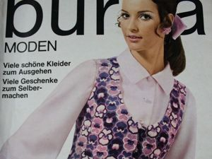 Burda moden 11/1968  Бурда Моден. Ярмарка Мастеров - ручная работа, handmade.