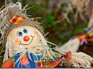 Огородное чучело как элемент декора. Ярмарка Мастеров - ручная работа, handmade.