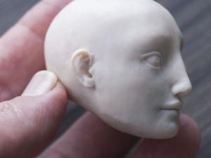 Лепка уха из запекаемого пластика. Ярмарка Мастеров - ручная работа, handmade.
