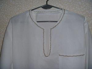 Видеоурок: как сшить рубаху-вышиванку. Ярмарка Мастеров - ручная работа, handmade.
