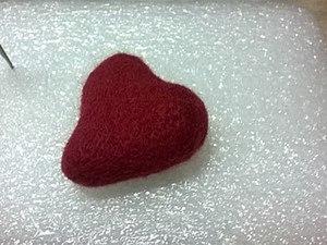 Валяем «Сердечко» по сухому. Ярмарка Мастеров - ручная работа, handmade.
