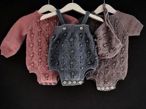 Вдохновляющая подборка вязаных моделей для малышей и мам. Ярмарка Мастеров - ручная работа, handmade.