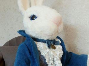 Кролик Эдвард. Ярмарка Мастеров - ручная работа, handmade.