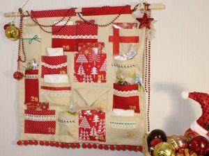 Как сшить легко и просто адвент-календарь. Ярмарка Мастеров - ручная работа, handmade.