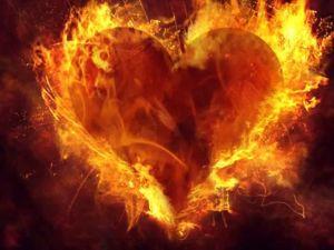 Освобождение сердца: отливка свечой. Ярмарка Мастеров - ручная работа, handmade.