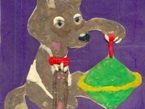 Пластилиновый Волчёк. Грустная сказка. Ярмарка Мастеров - ручная работа, handmade.