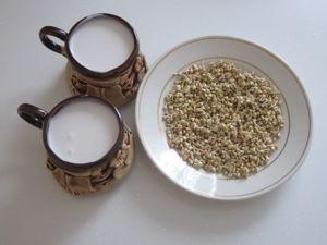 Гречка и молочко, да не простые. Ярмарка Мастеров - ручная работа, handmade.