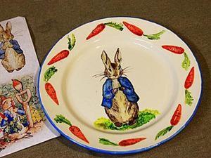Роспись керамической тарелки. Ярмарка Мастеров - ручная работа, handmade.