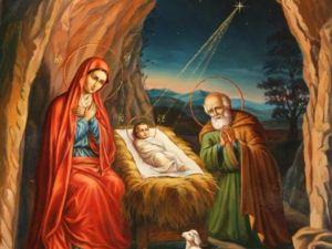 Поздравляем вас с Рождеством!. Ярмарка Мастеров - ручная работа, handmade.
