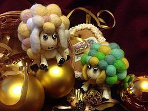 Создаем новогоднюю Овечку. Ярмарка Мастеров - ручная работа, handmade.