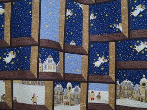 Квилт  «Рождественская сказка» . Ярмарка Мастеров - ручная работа, handmade.