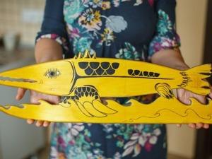 Создаем оригинальную деталь интерьера из старого скейтборда. Ярмарка Мастеров - ручная работа, handmade.