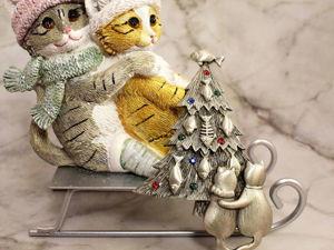 Коллекция винтажных котиков от JJ!. Ярмарка Мастеров - ручная работа, handmade.