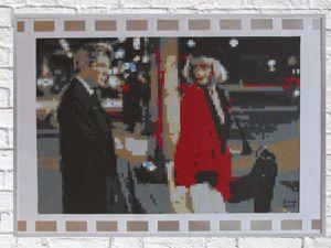Мозаика-Пиксель Арт «Киноплёнка № 6». Ярмарка Мастеров - ручная работа, handmade.
