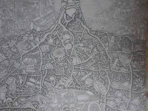 «Противостояние » , карандаш на бумаге. Ярмарка Мастеров - ручная работа, handmade.