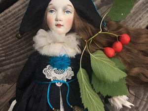Скидка 30% на куколку Молли. Ярмарка Мастеров - ручная работа, handmade.