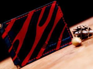 Изготавливаем из кожи зажим для денег «Pumilio». Ярмарка Мастеров - ручная работа, handmade.