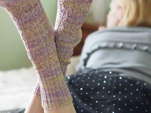Выход нового МК женские носки Petals) Только три дня цена 250 руб вместо 350 руб. Ярмарка Мастеров - ручная работа, handmade.