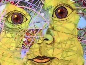 Джим Керри и его картины: «мне нужен цвет». Ярмарка Мастеров - ручная работа, handmade.