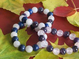 Осенняя коллекция браслетов. Ярмарка Мастеров - ручная работа, handmade.