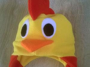 Шьем детскую карнавальную шапочку «Петушок». Ярмарка Мастеров - ручная работа, handmade.