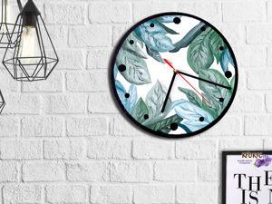 Декорируем часы в стиле Сканди. Ярмарка Мастеров - ручная работа, handmade.