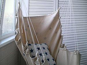 Мастер-класс: кресло-гамак своими руками. Ярмарка Мастеров - ручная работа, handmade.