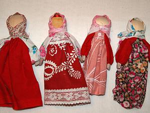 Славянская кукла на ложке. Ярмарка Мастеров - ручная работа, handmade.