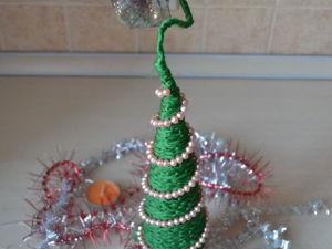 Новогодняя елочка своими руками. Ярмарка Мастеров - ручная работа, handmade.