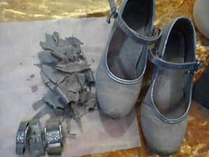Обновляем старенькие серебряные туфельки. Ярмарка Мастеров - ручная работа, handmade.