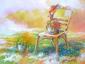 Как рисовать акриловыми красками.. Ярмарка Мастеров - ручная работа, handmade.