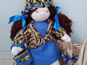 Авторские вальдорфские куклы от 1500 руб. Ярмарка Мастеров - ручная работа, handmade.