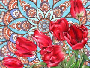 Роспись платка на натуральном шелке в технике холодного батика. Ярмарка Мастеров - ручная работа, handmade.
