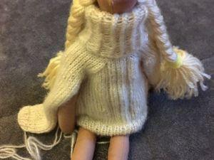 Кукла тильда своими руками. Ярмарка Мастеров - ручная работа, handmade.