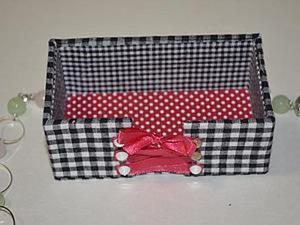 """Изготовление коробочки для визиток """"Талия в корсете"""". Ярмарка Мастеров - ручная работа, handmade."""