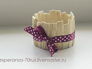Мастерим горшочек для топиария: бюджетно и красиво. Ярмарка Мастеров - ручная работа, handmade.