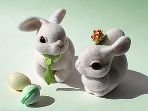 Солнечные пасхальные кролики. Ярмарка Мастеров - ручная работа, handmade.