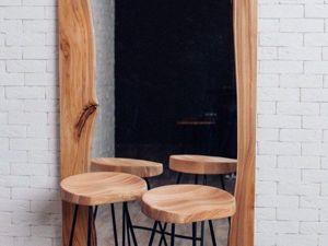 Создаем стильное зеркало за пару часов. Ярмарка Мастеров - ручная работа, handmade.